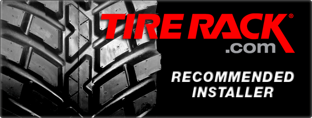 Tire Rack banner | Auto Service in Lancaster, OH